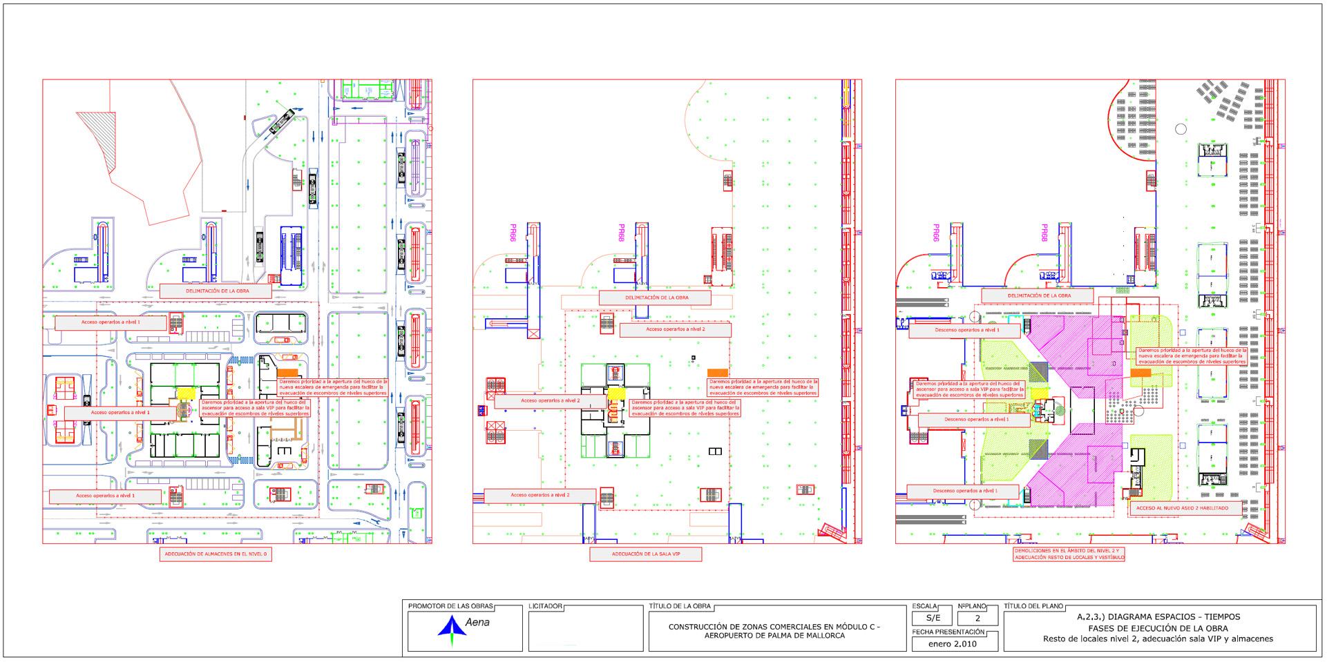 08.Aeropuerto Mallorca. Fases ejecución elaboradas por DEINTEC.2