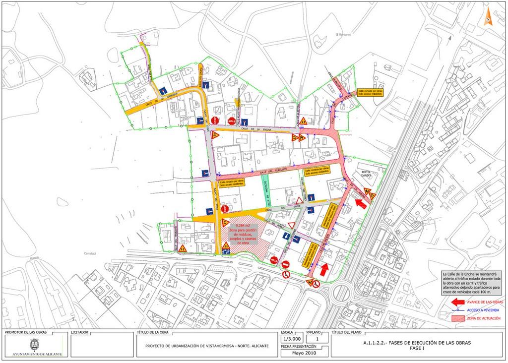 10.Urbanización vistahermosa. Fases de ejecución elaboradas por DEINTEC.1