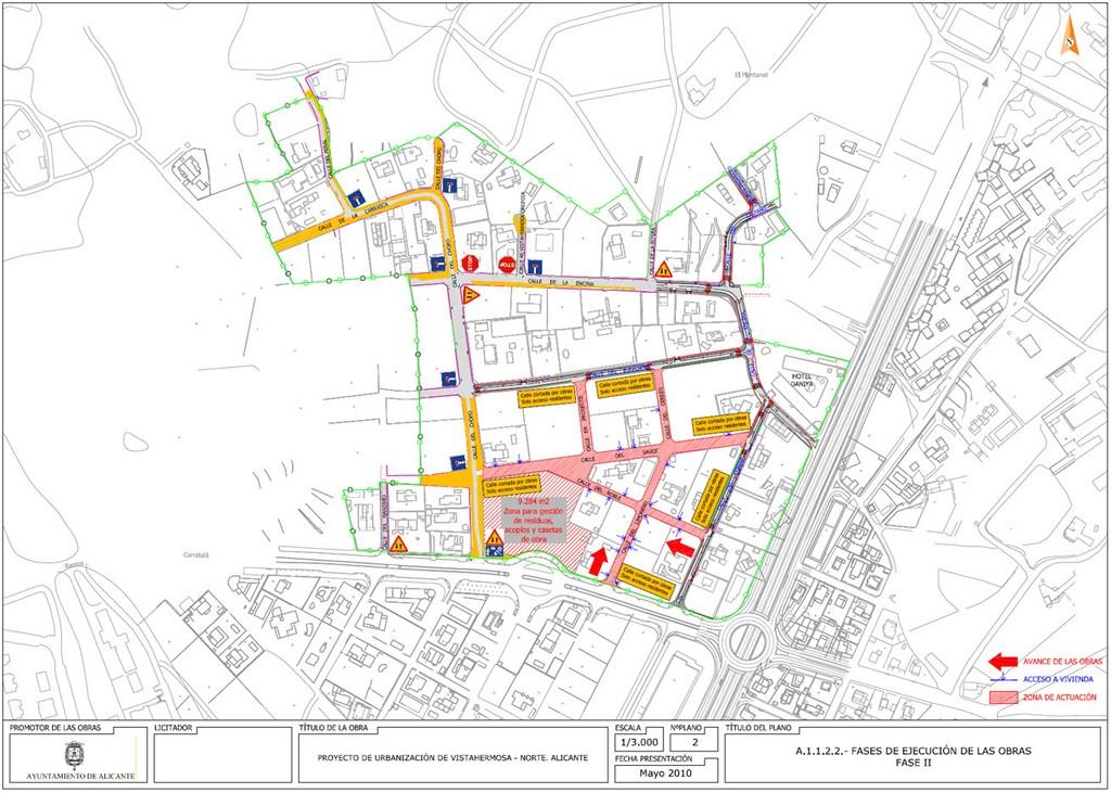 10.Urbanización vistahermosa. Fases de ejecución elaboradas por DEINTEC.2