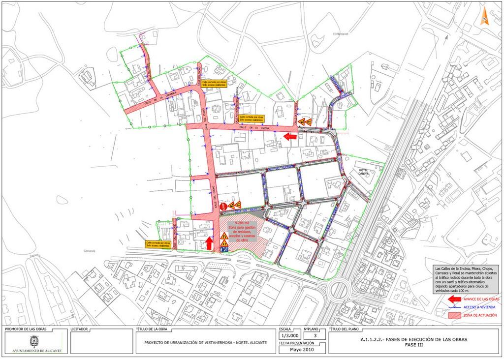 10.Urbanización vistahermosa. Fases de ejecución elaboradas por DEINTEC.3
